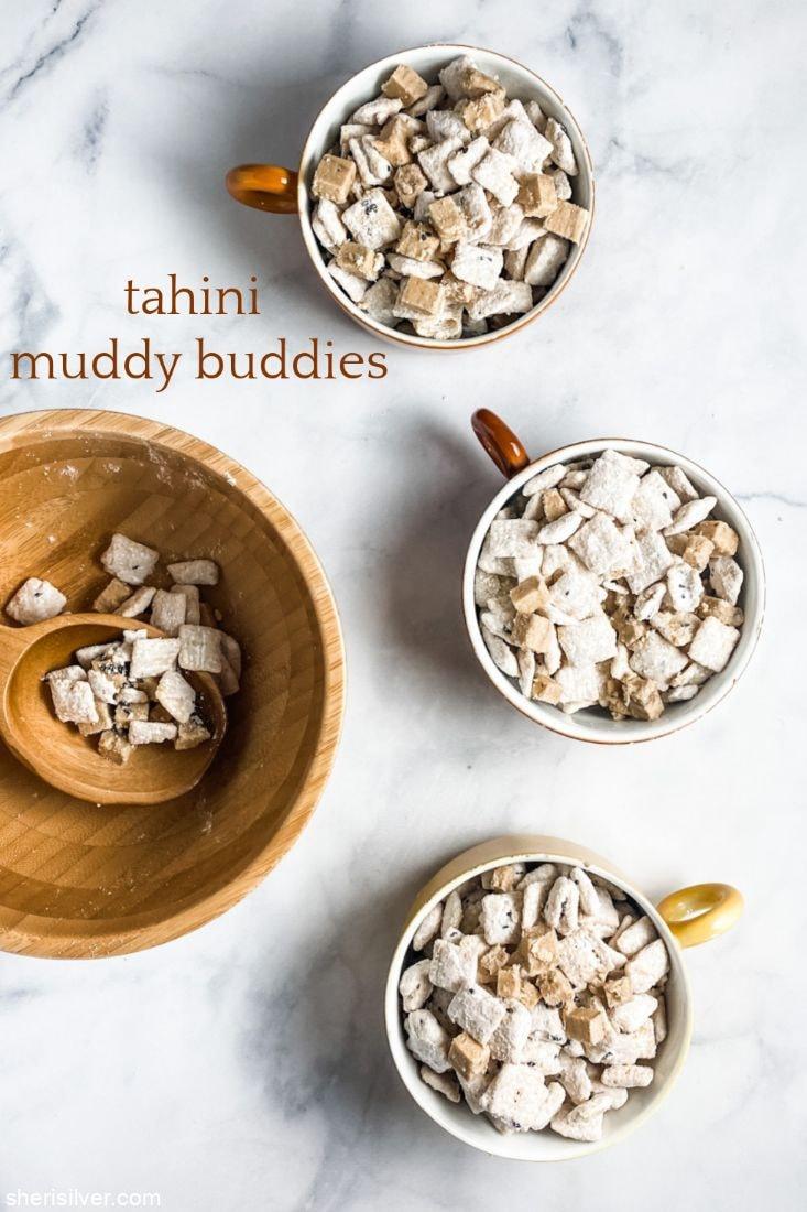 Tahini Muddy Buddies l sherisilver.com