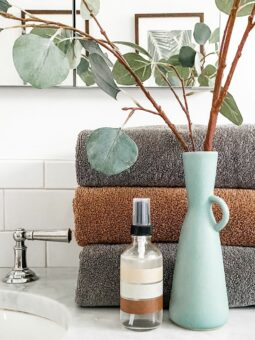 DIY Towel Spray l sherisilver.com