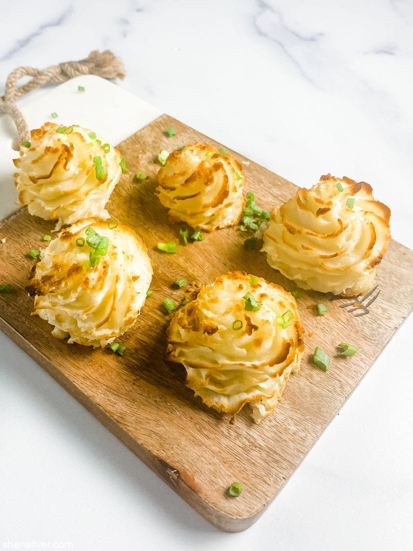 Duchess Potatoes l sherisilver.com