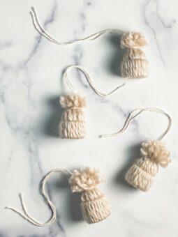 Knit Hat Ornaments l sherisilver.com