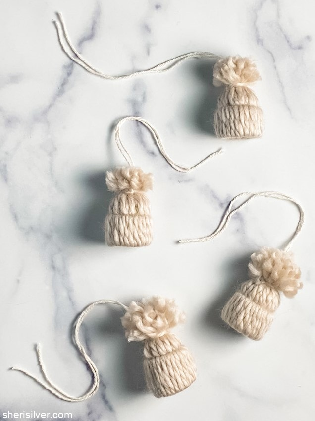 Knit Hat Ornaments l sherisilver.com